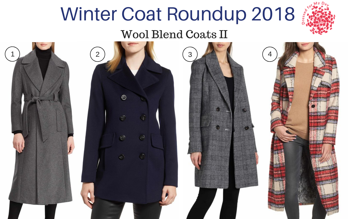Winter Coat Roundup 2018 Wool Blend Coats II