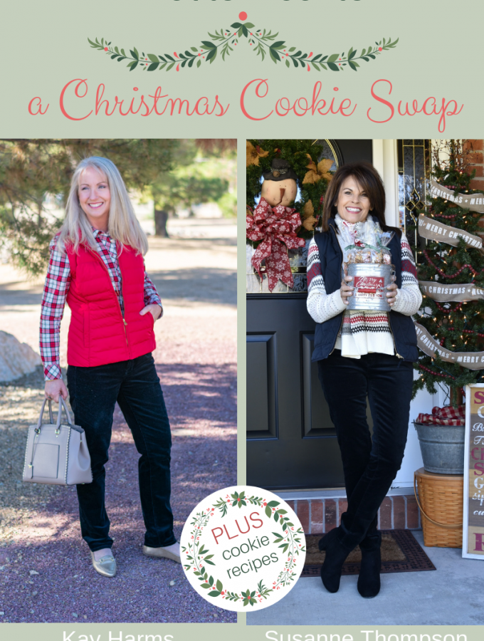 What to Wear to a Christmas Cookie Swap + What to Take