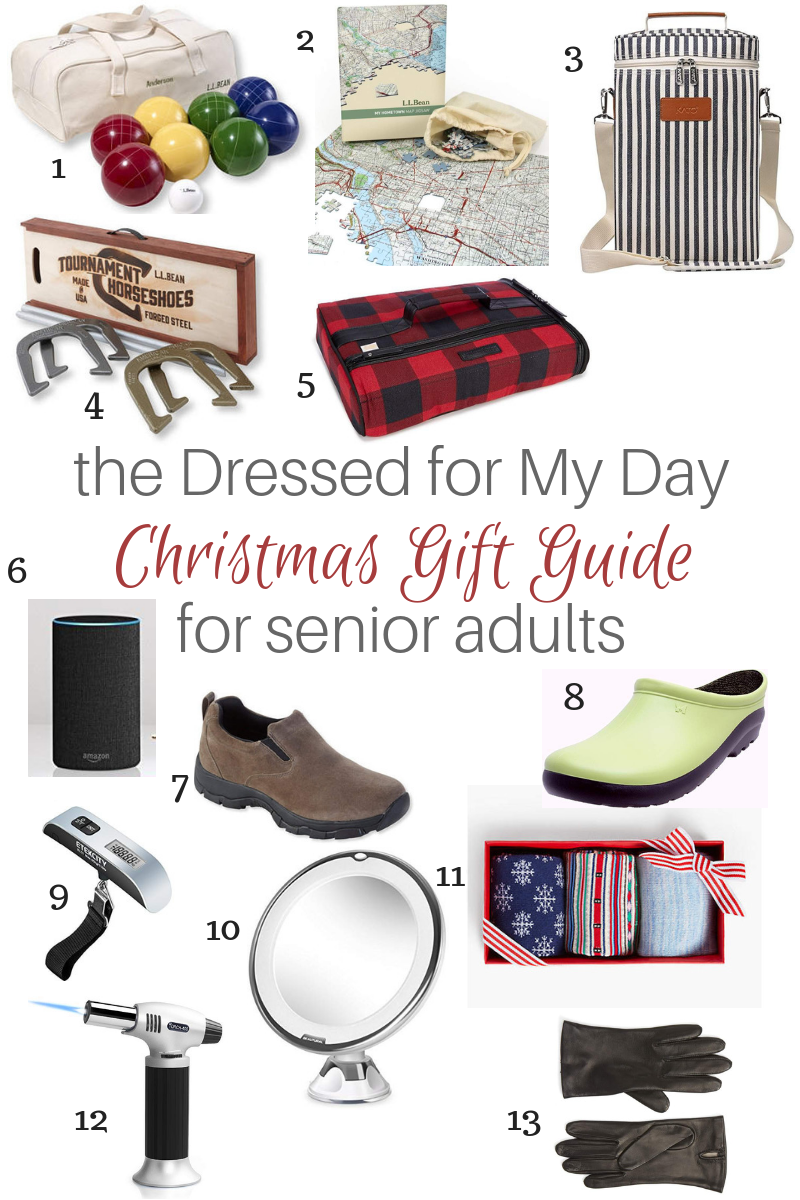 Christmas Gift Guide Senior Adults 1-13