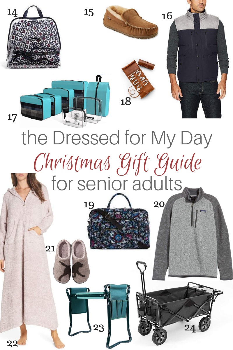 Christmas Gift Guide Senior Adults 14-24