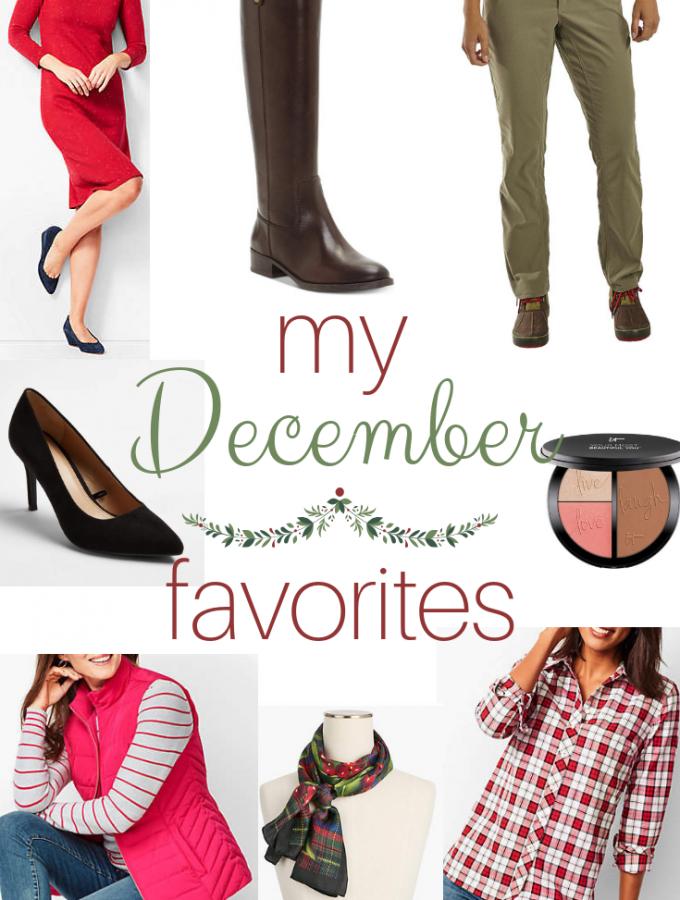 My December 2018 Favorites