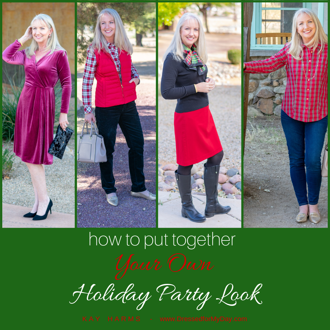 how to put together Your Own Holiday Party Look