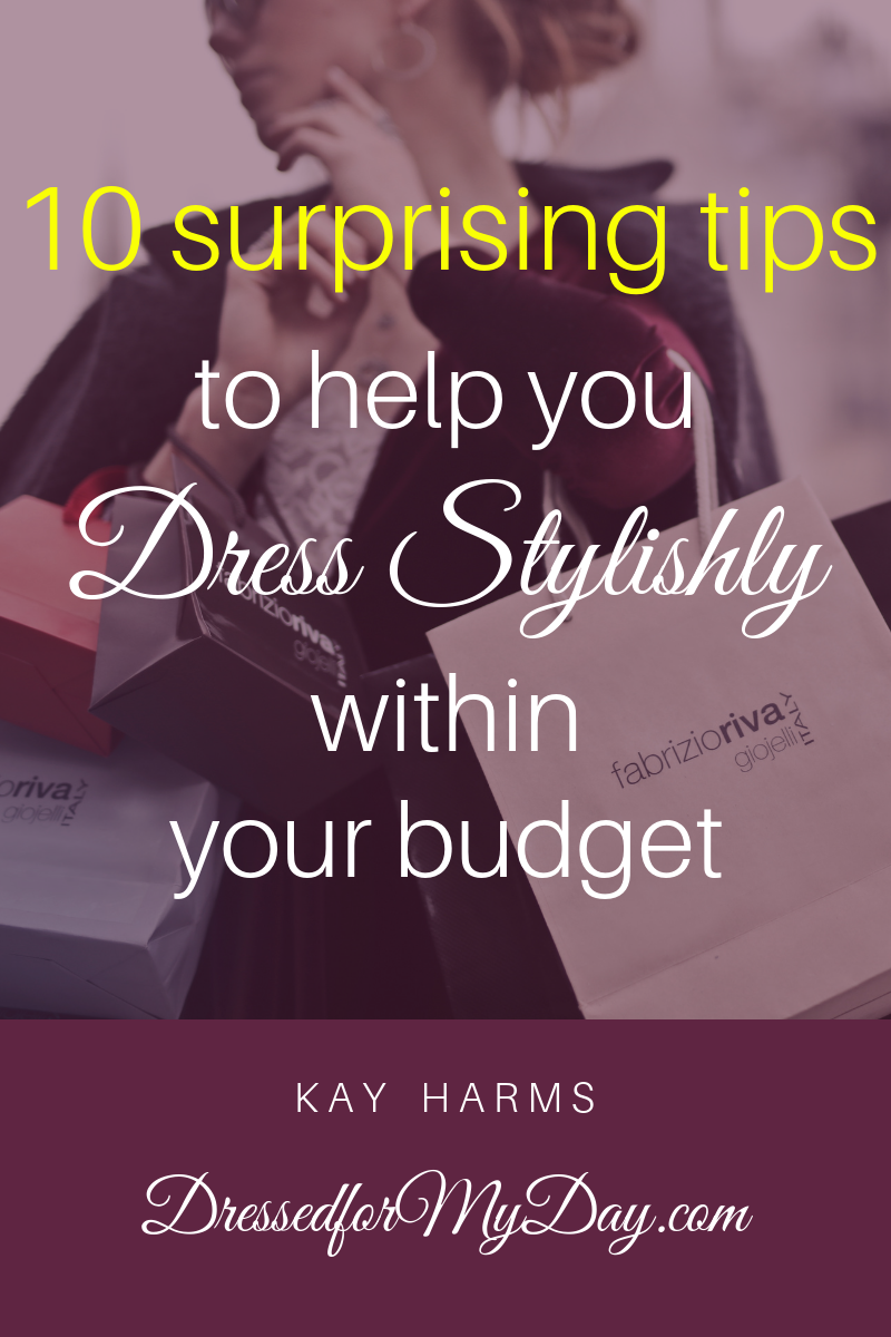 10 tips to help you dress stylishly within your budget