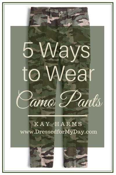 5 Ways to Wear Camo Pants