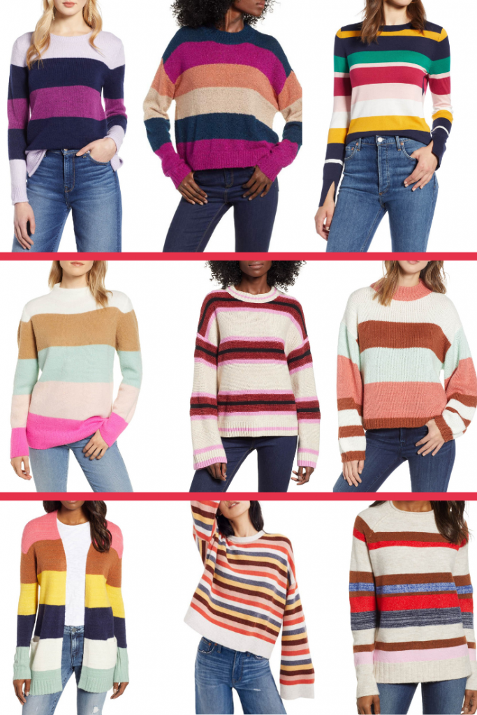 Colorful Sweaters Graphic