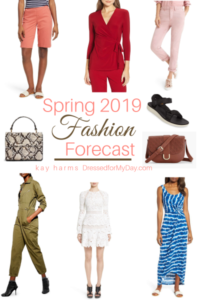 Spring 2019 Fashion Forecast