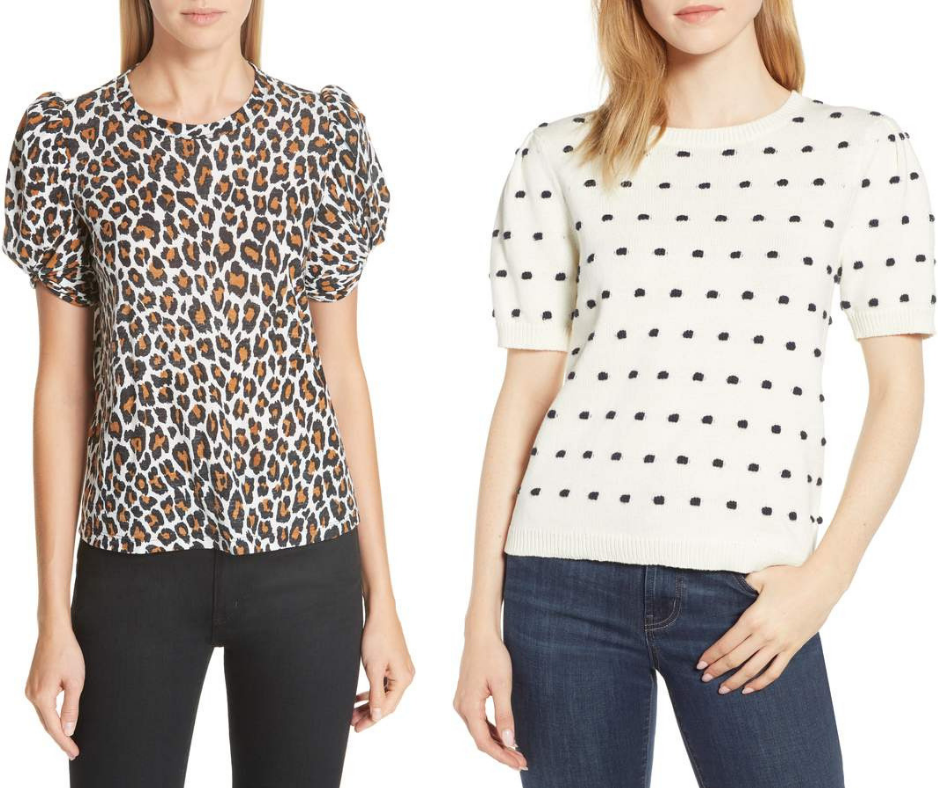 Spring 2019 Trend Forecast Animal Print & Puffed Sleeves