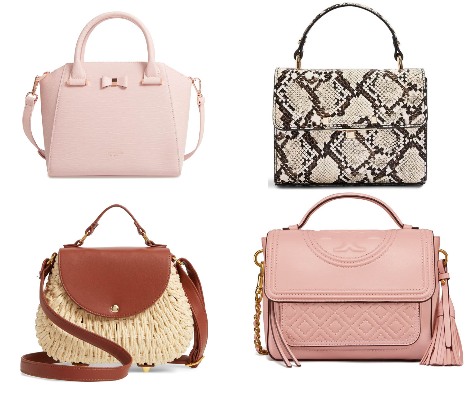 Spring 2019 Trend Forecast top Handle Handbags
