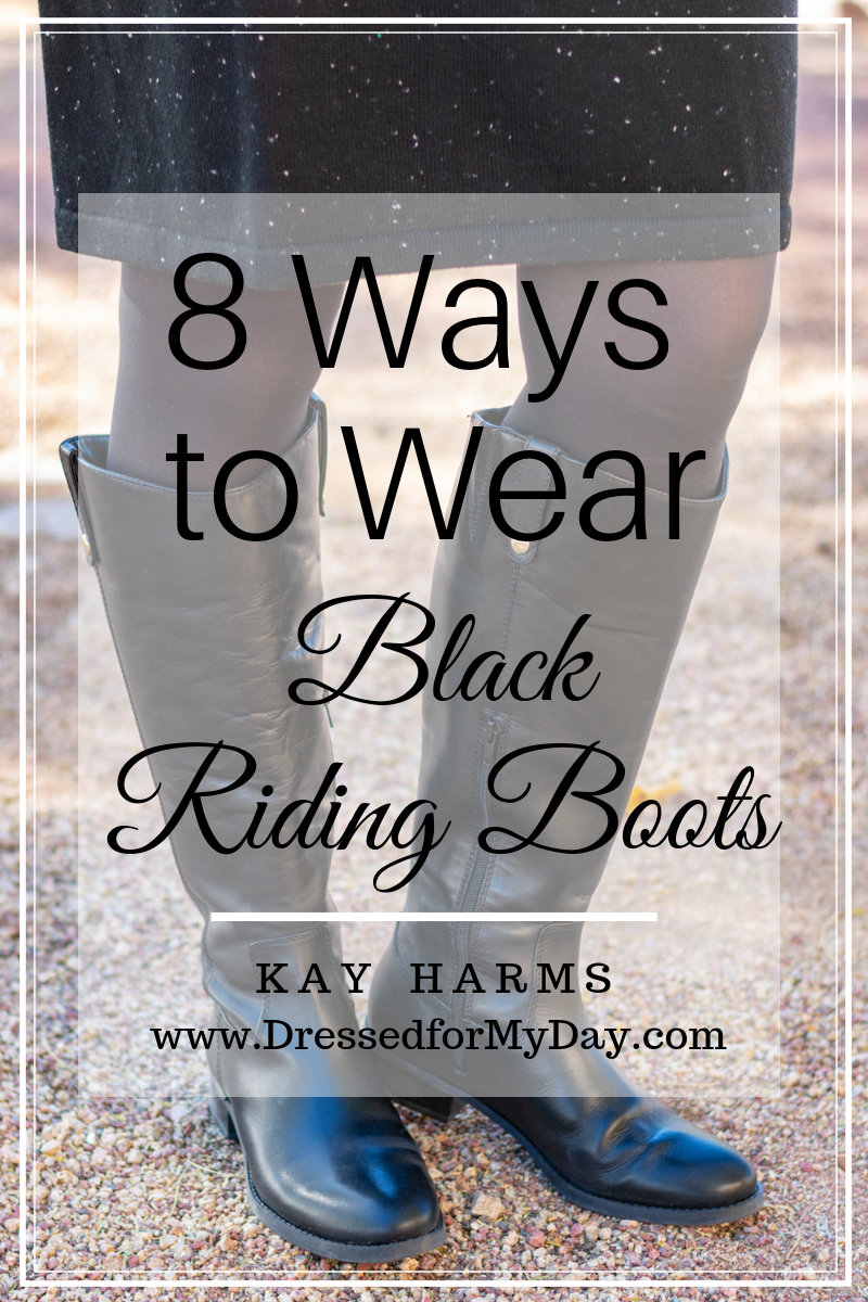 8 Ways to Wear Black Riding Boots