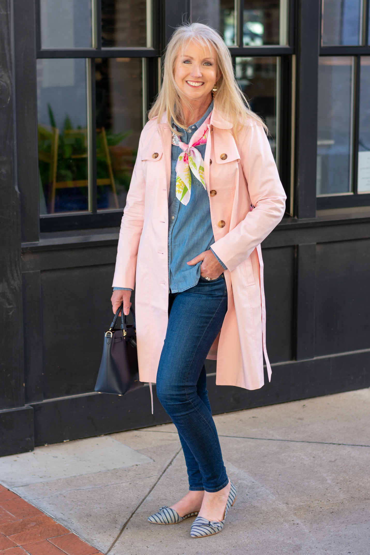 A Trench Coat for Spring