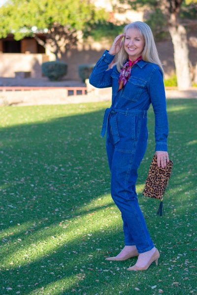 Denim Boilersuit 2 Ways