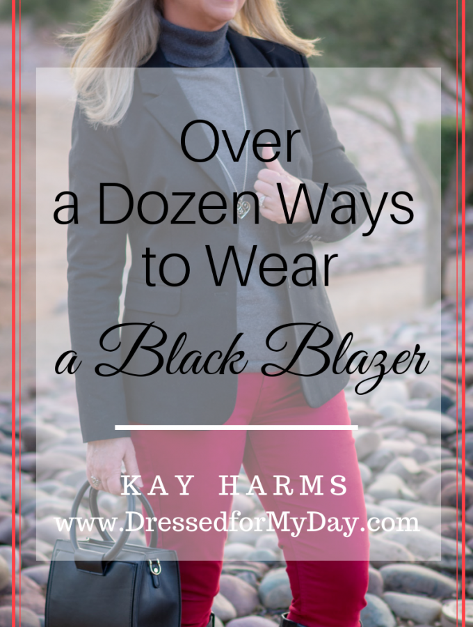 Over a Dozen Ways to Wear a Black Blazer