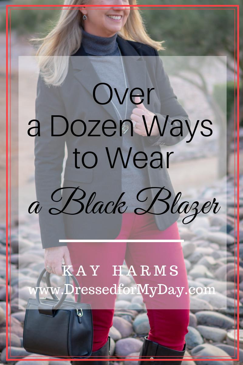 Over a Dozen Ways to Wear a Black Blazer