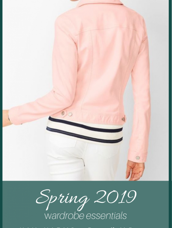 Spring 2019 Wardrobe Essentials