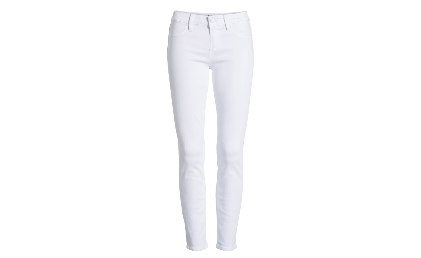 Spring 2019 Wardrobe Essentials White Jeans