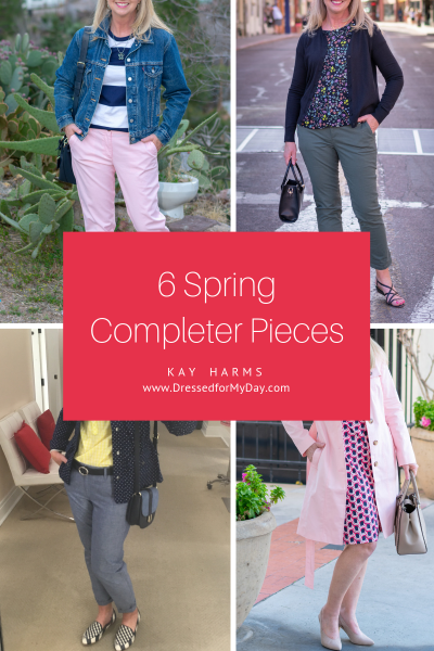 6 Spring Completer Pieces