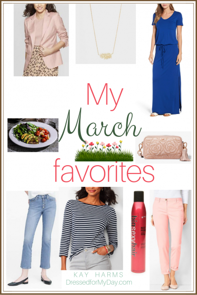 My March 2019 Favorites