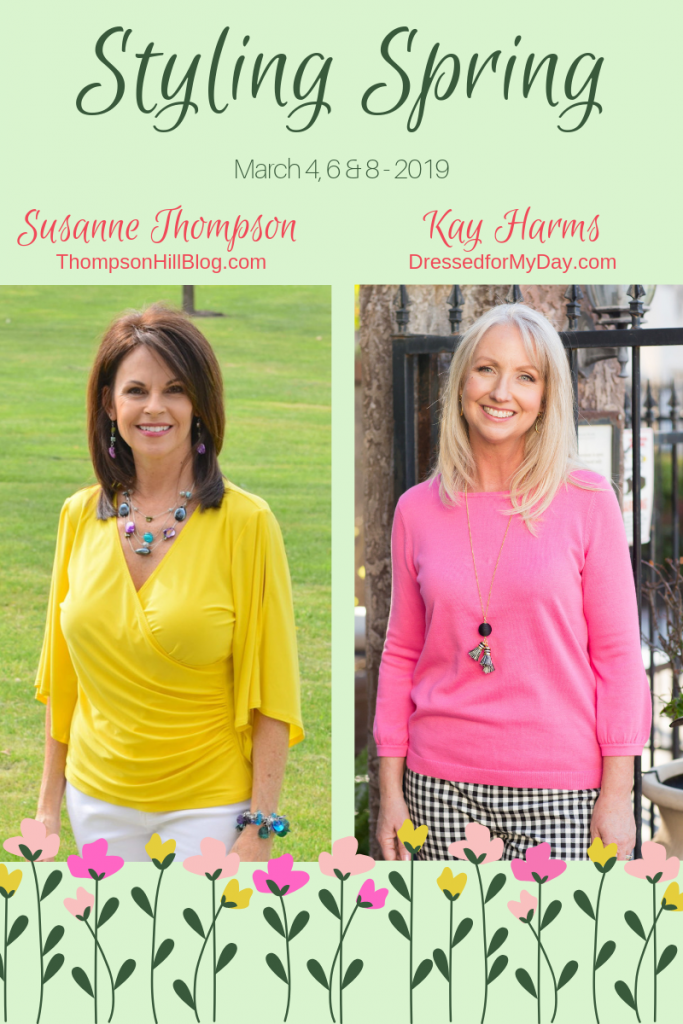 Styling Spring with Susanne and Kay