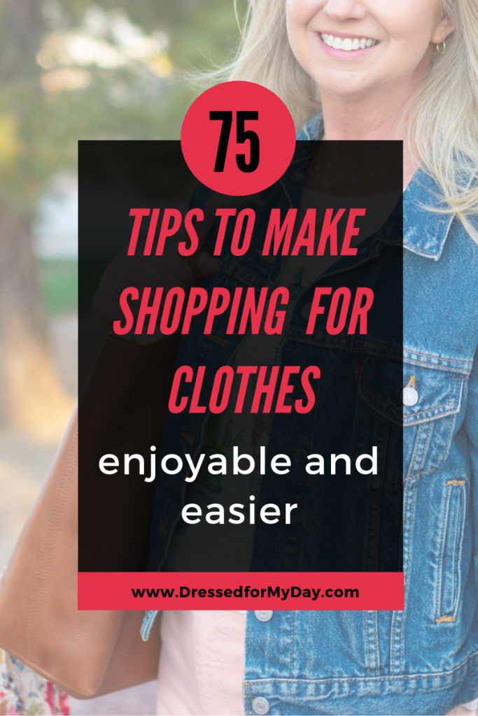 75 Tips for Shopping for Clothes