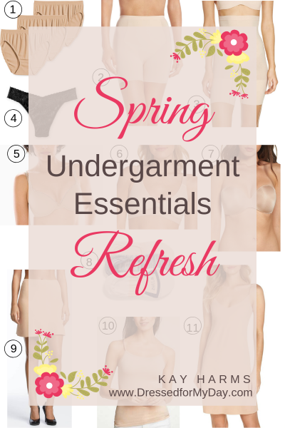 Spring Undergarment Essentials Refresh