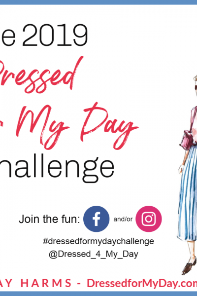 the Dressed for My Day Challenge graphic