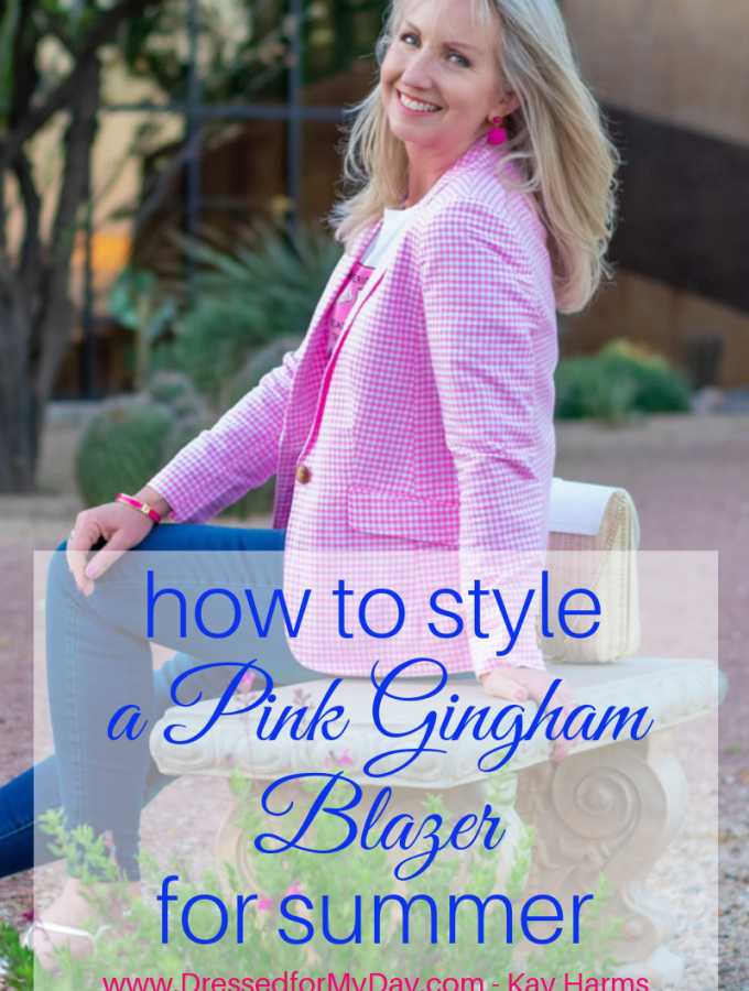 How-to-Style-a-Pink-Gingham-Blazer-for-Summer