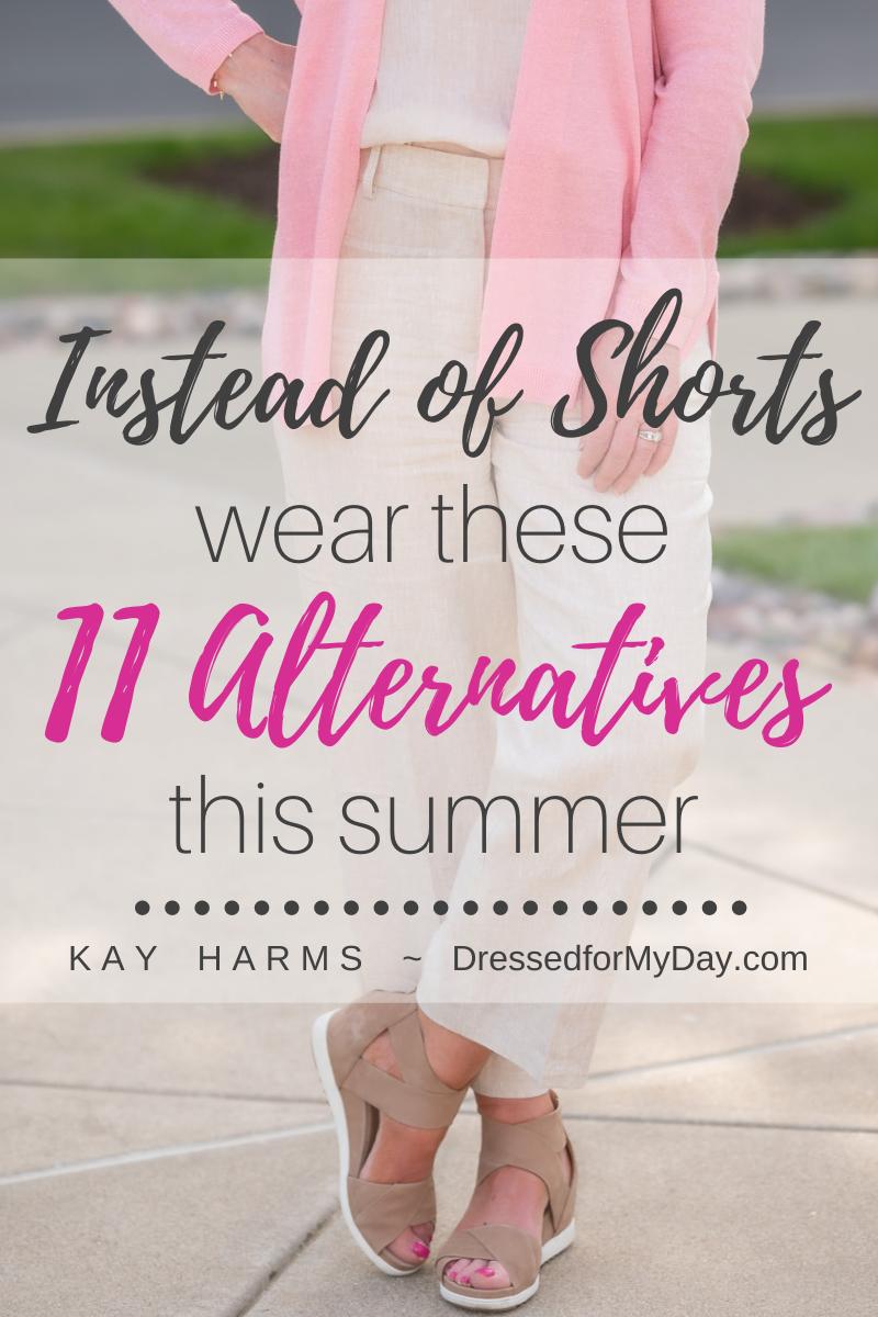 Instead of Shorts - 11 Alternatives
