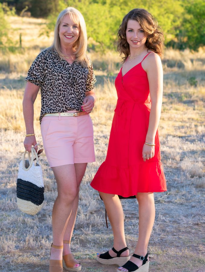 Mother and Daughter Summer Fashions
