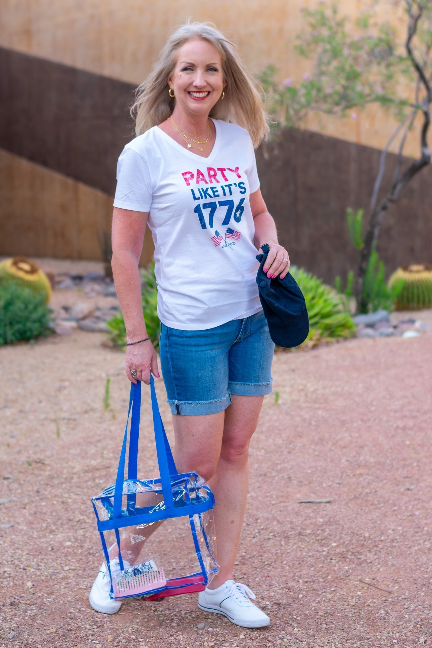 What to Wear to a Sports Arena on the 4th of July