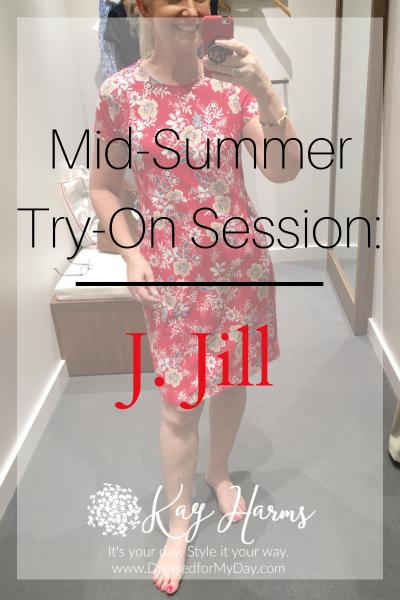 J. Jill Mid-Summer Try-On Session