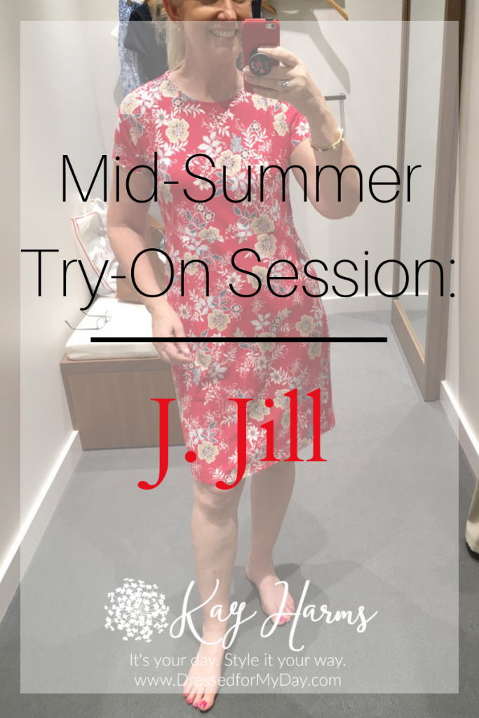 J. Jill Mid-Summer Try-On Session