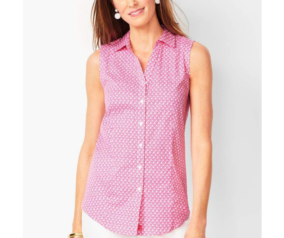June Favorites - sleeveless perfect shirt