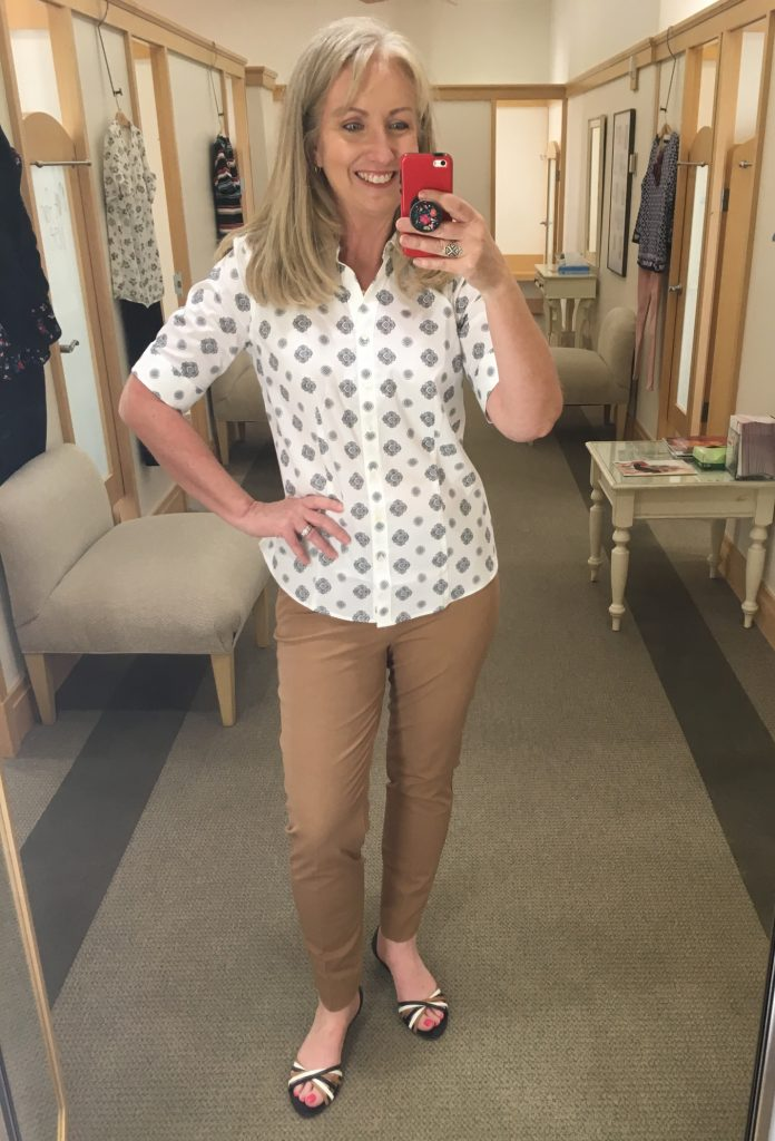 perfect shirt in elbow length sleeves