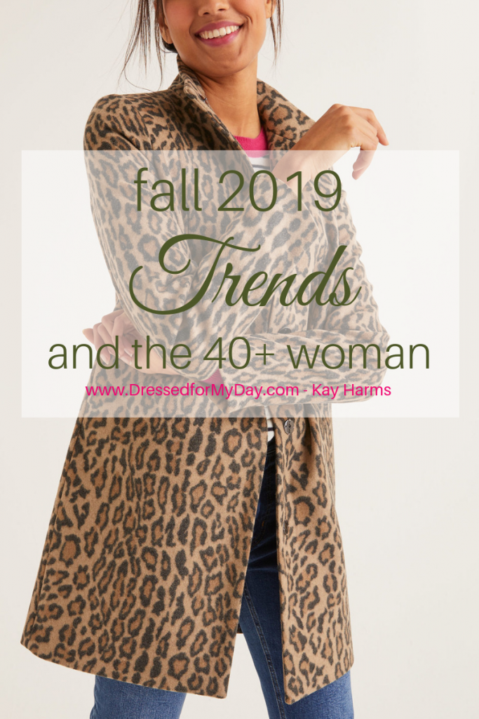 Fall Trends and the 40+ Woman
