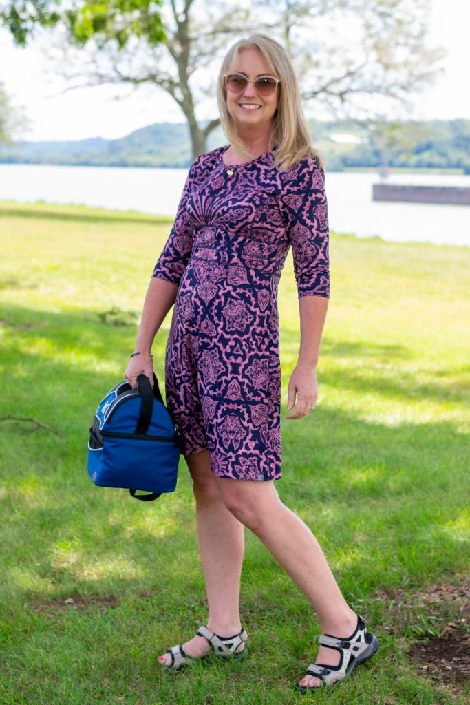 Fall outing dress