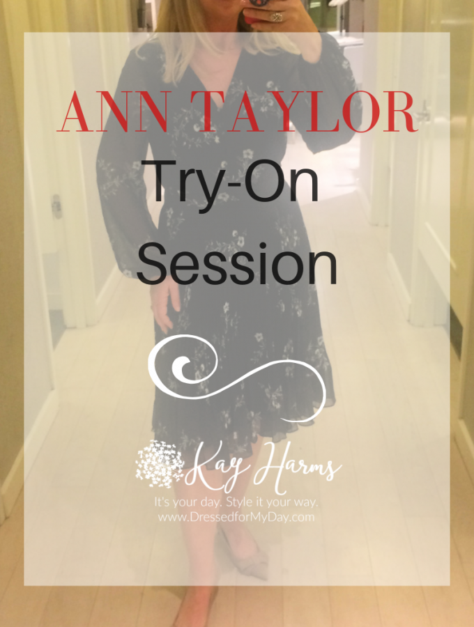 Ann Taylor Try-On Session