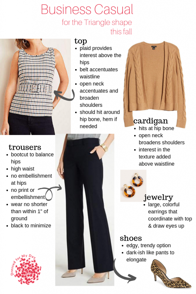 Buesiness for Triangle Shape this fall