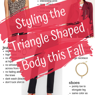Styling the Triangle Shaped Body this Fall - Style Bulletin Boards curated just for the triangle or pear shaped body