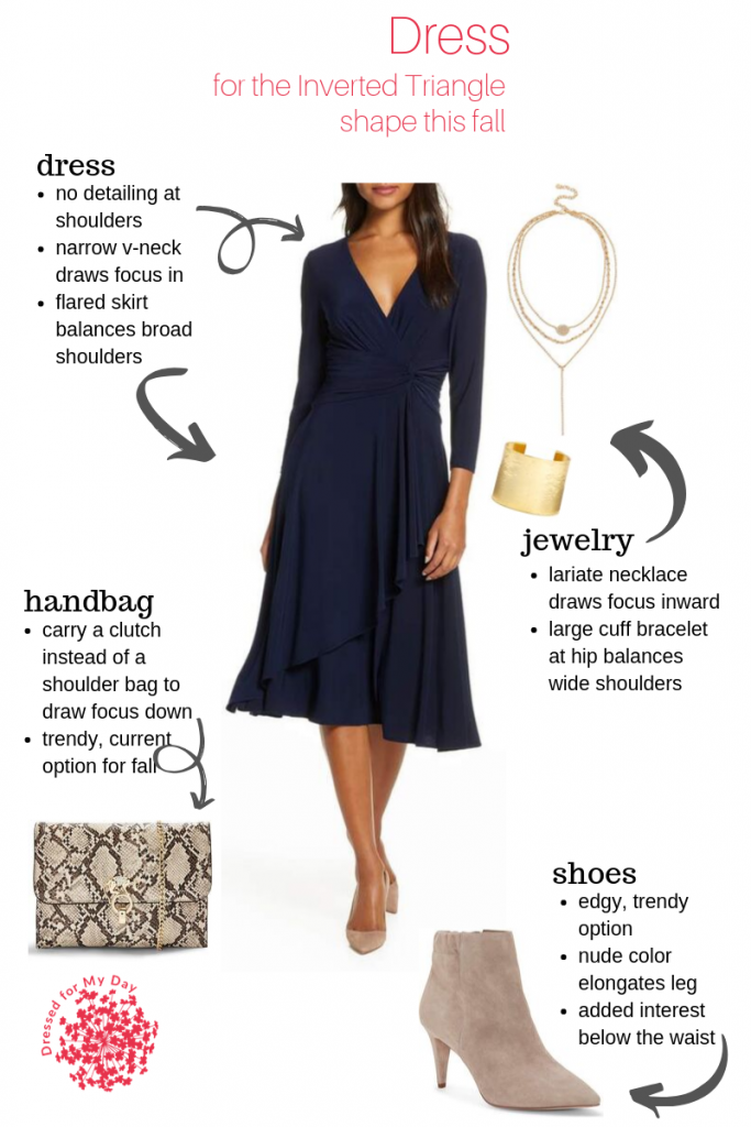 Dress - Inverted Triangle Shape this Fall