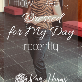 How I Really Dressed for My Day - Early September Transitional Clothes