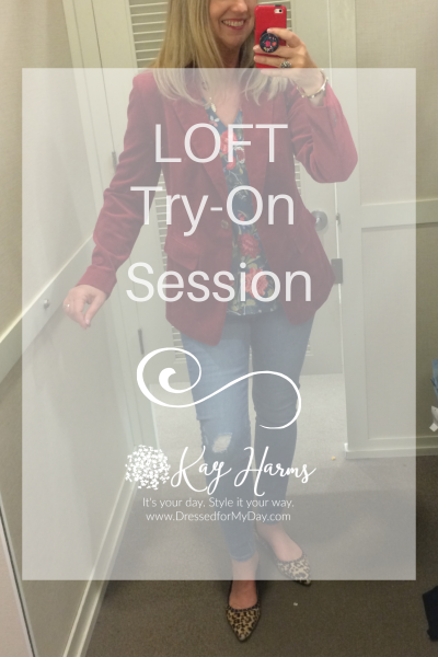 LOFT Try-On Session
