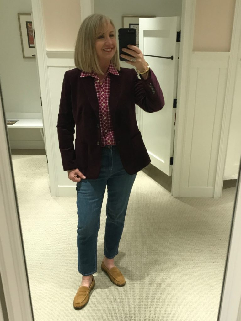 Talbots Fall 25% Off Try-On Session