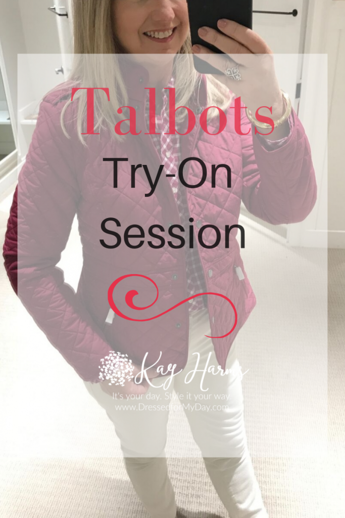 Talbots Try-On Session