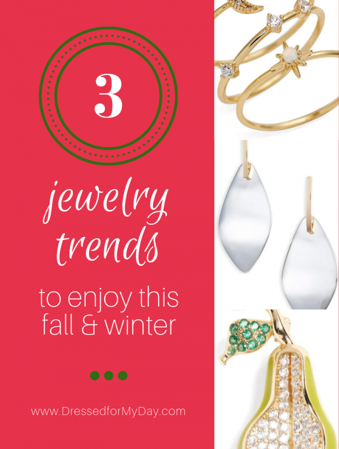 3 Jewelry Trends to Enjoy this Fall and Winter