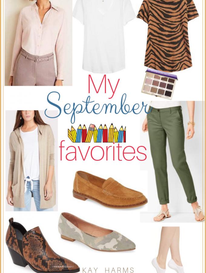My September 2019 Favorites