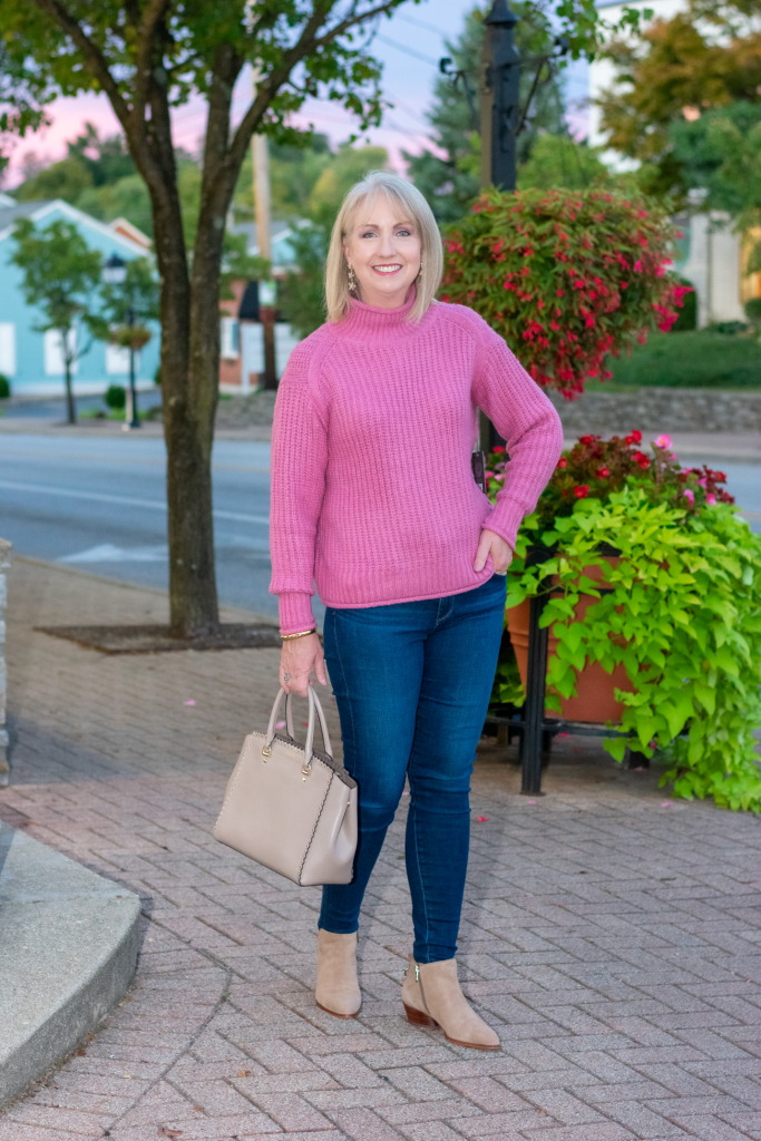 Fall Sweater and Jeans Outfit