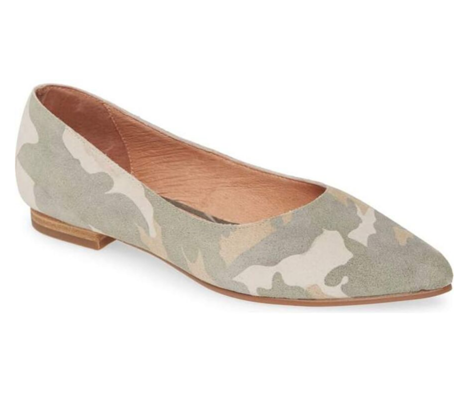 September Favorites camo flat