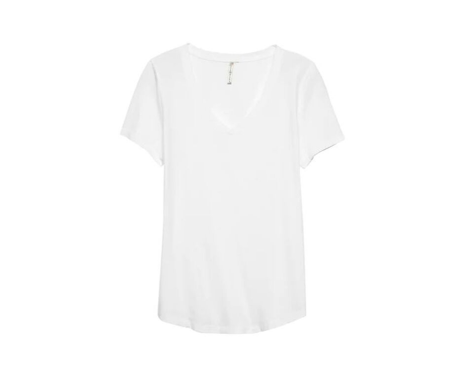September Favorites white tee