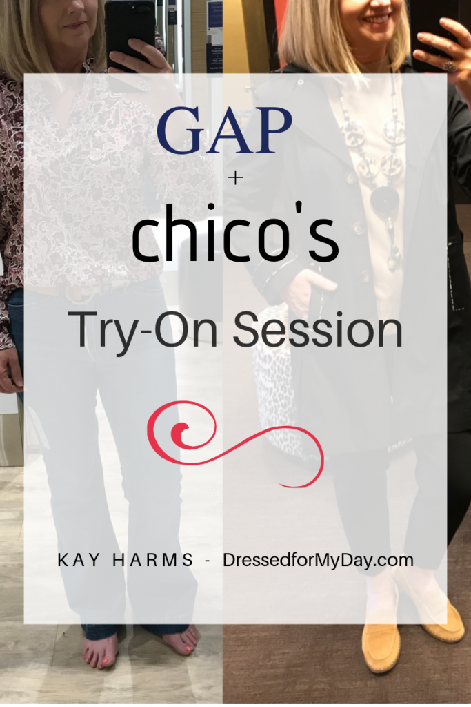 gap and Chicos Try-On Session