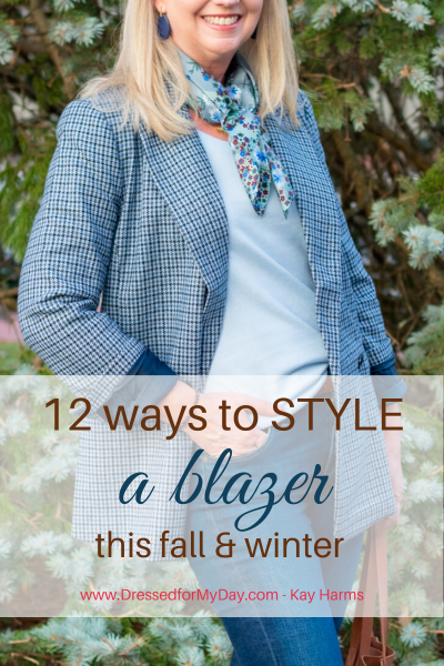 12 Ways to Style a Blazer this fall and winter